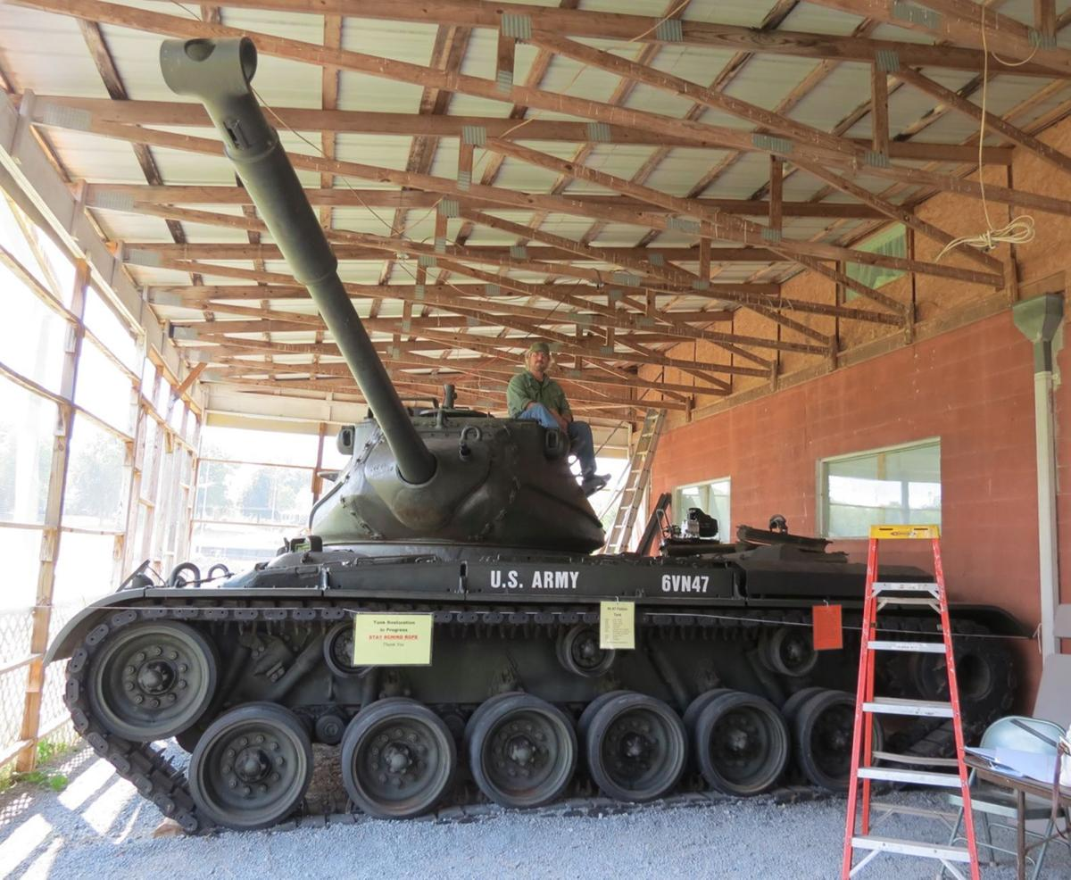 M47 Patton tank at 6th Cavalry Museum