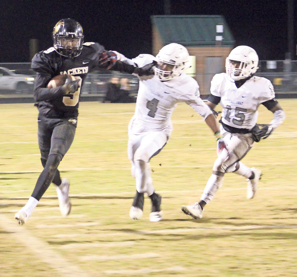 Football Jackets Fall Short In 2nd Round High School