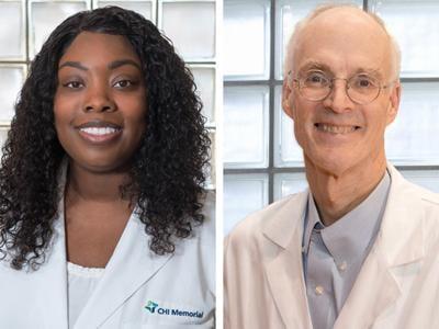 CHI Memorial GA Dr. Takeyla Williams, Dr. Oliver Benton, III