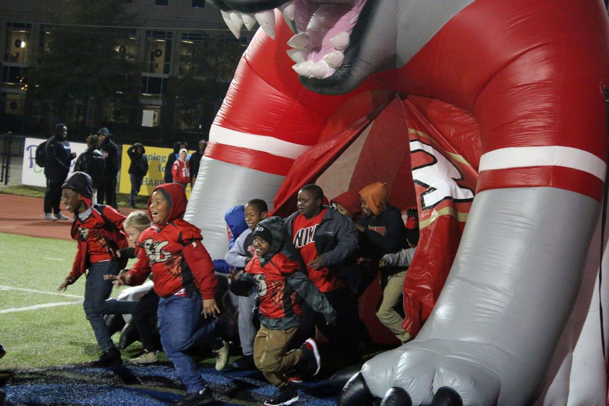 On chilly night, community pep rally sparks plenty of fun