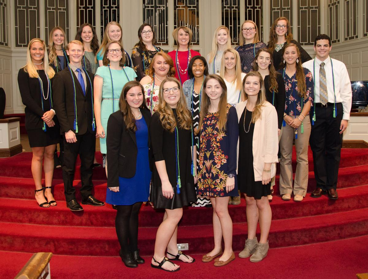 Shorter's Alpha Chi Honor Society inducts new members