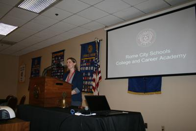 Holly Amerman, CTAE director of the Rome College and Career Academy