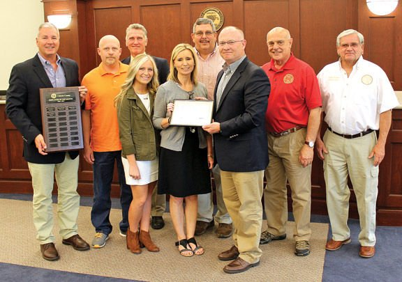 Catoosa employee of the month for April