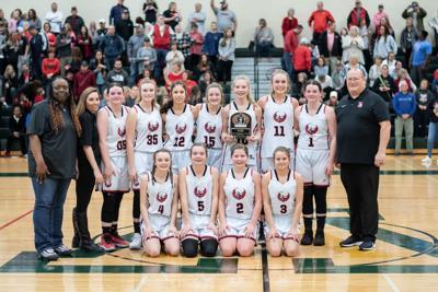 Red Bud Girls Basketball 2020 Region Champions