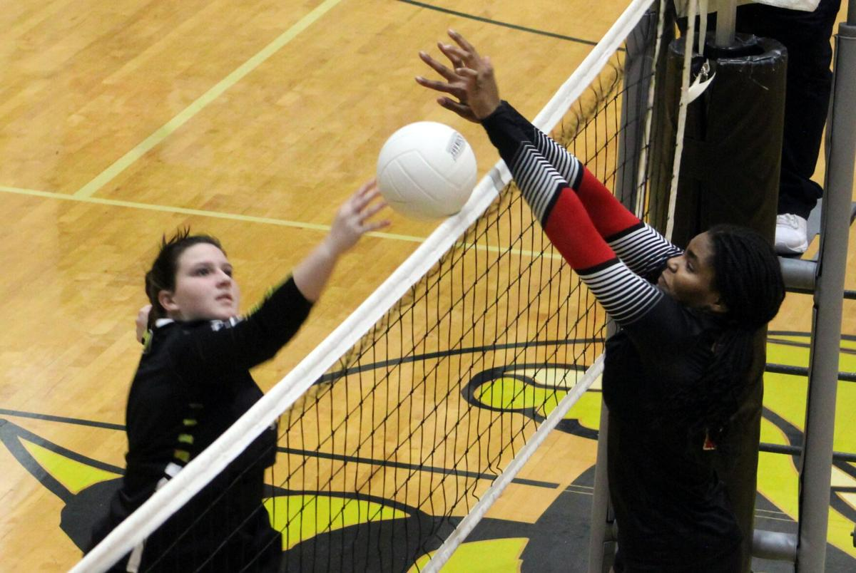 Lady Bulldogs see advantage slip away before defeating rivals in final set