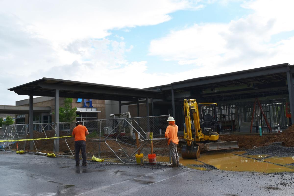 Calhoun Harbin Clinic expansion taking shape