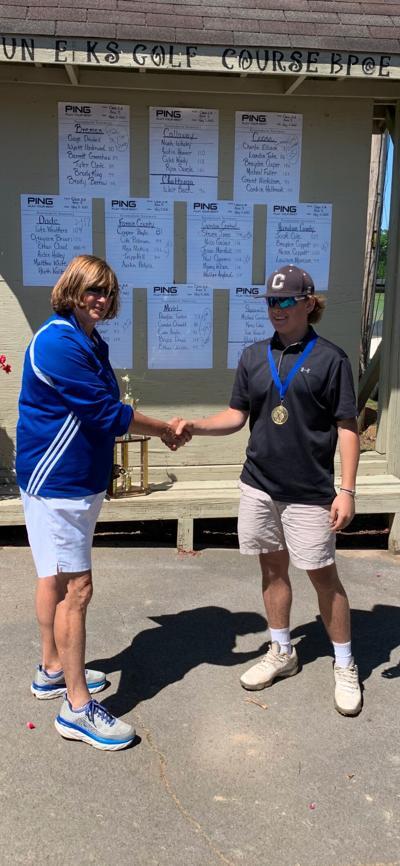 Charlie Ellison 2021 Area Golf Region Individual Champion
