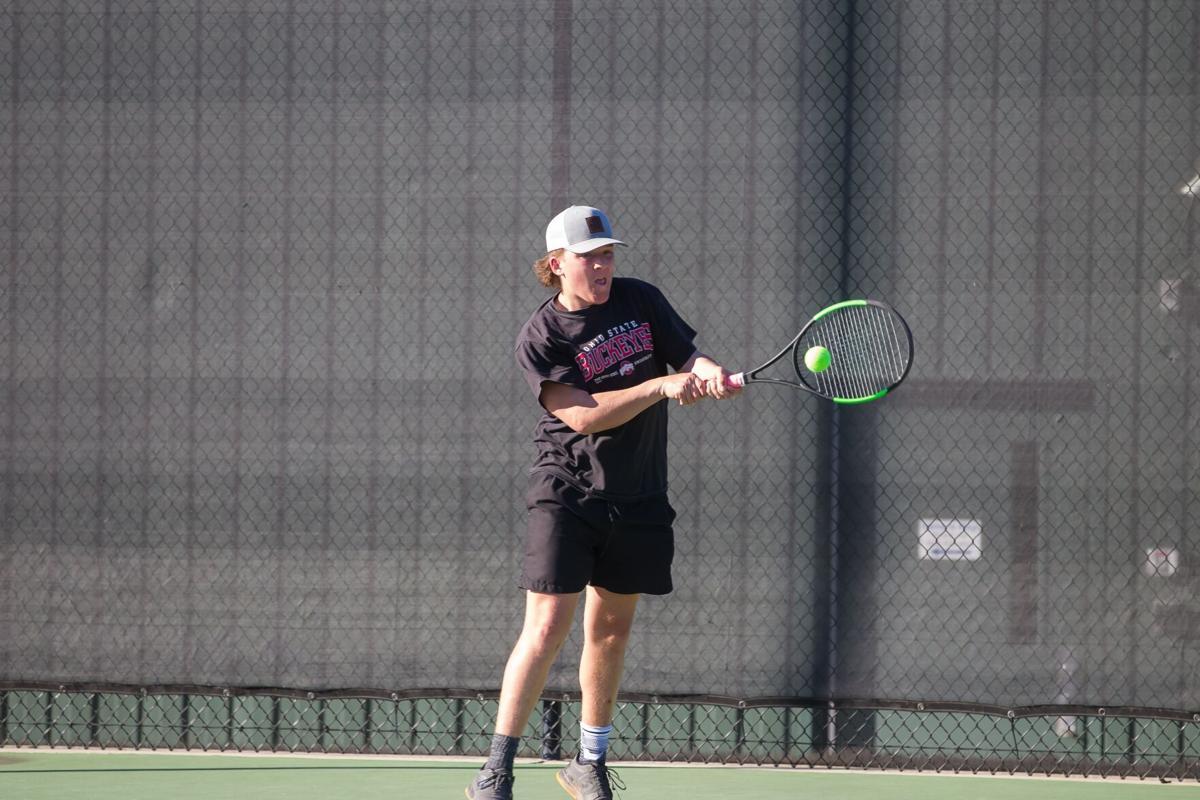 Model's Teller Abdou vs. Armuchee tennis