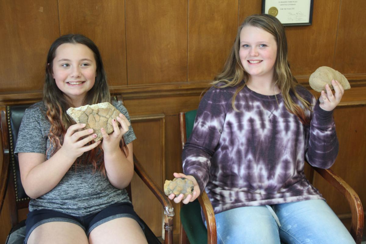 Locals bring in fossil finds