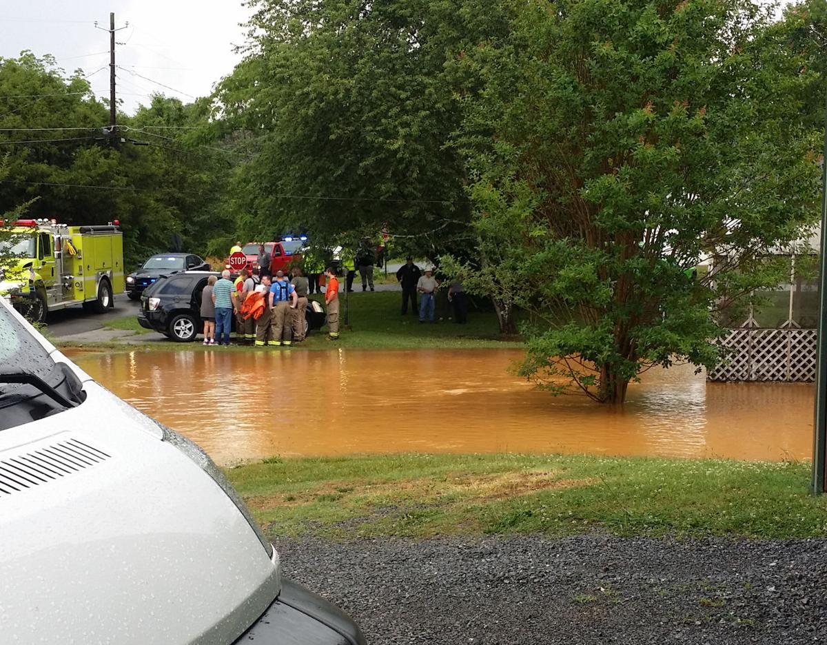 Flooding rescue