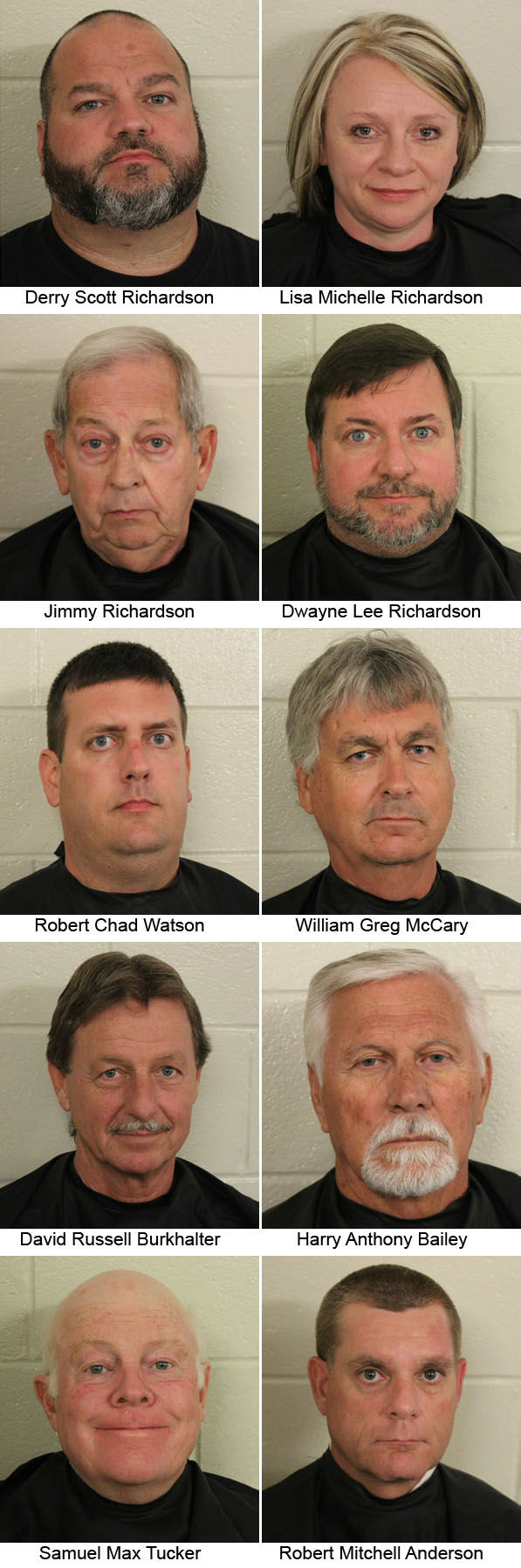 10 arrested in RICO case