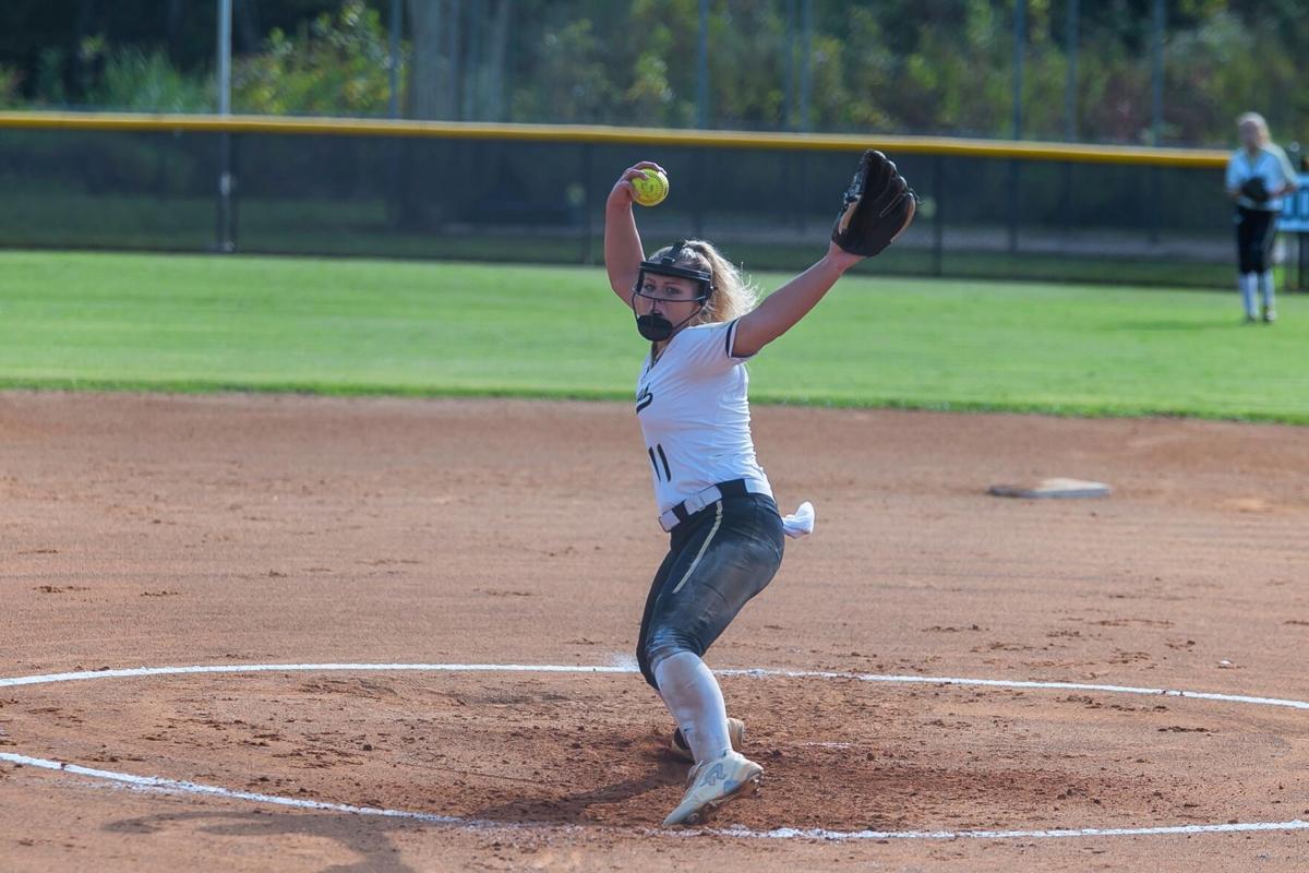 Pepperell Softball's Chloe Jones