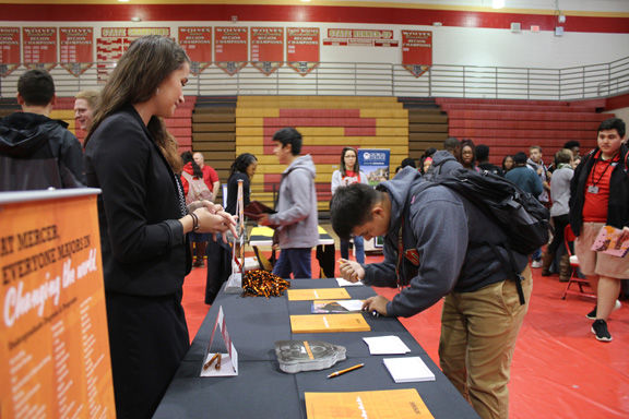 Rome High School's first College Fair held Friday