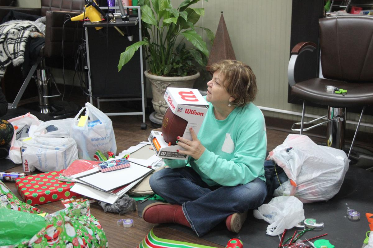 Wrapping Party for Community of Hope