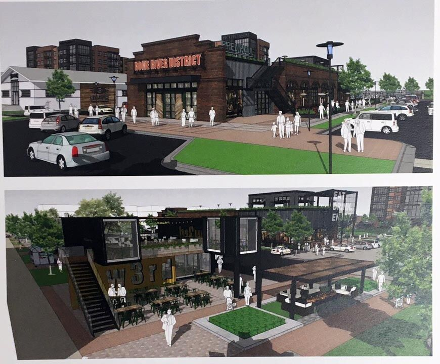 Images of FSRE proposal for West Third