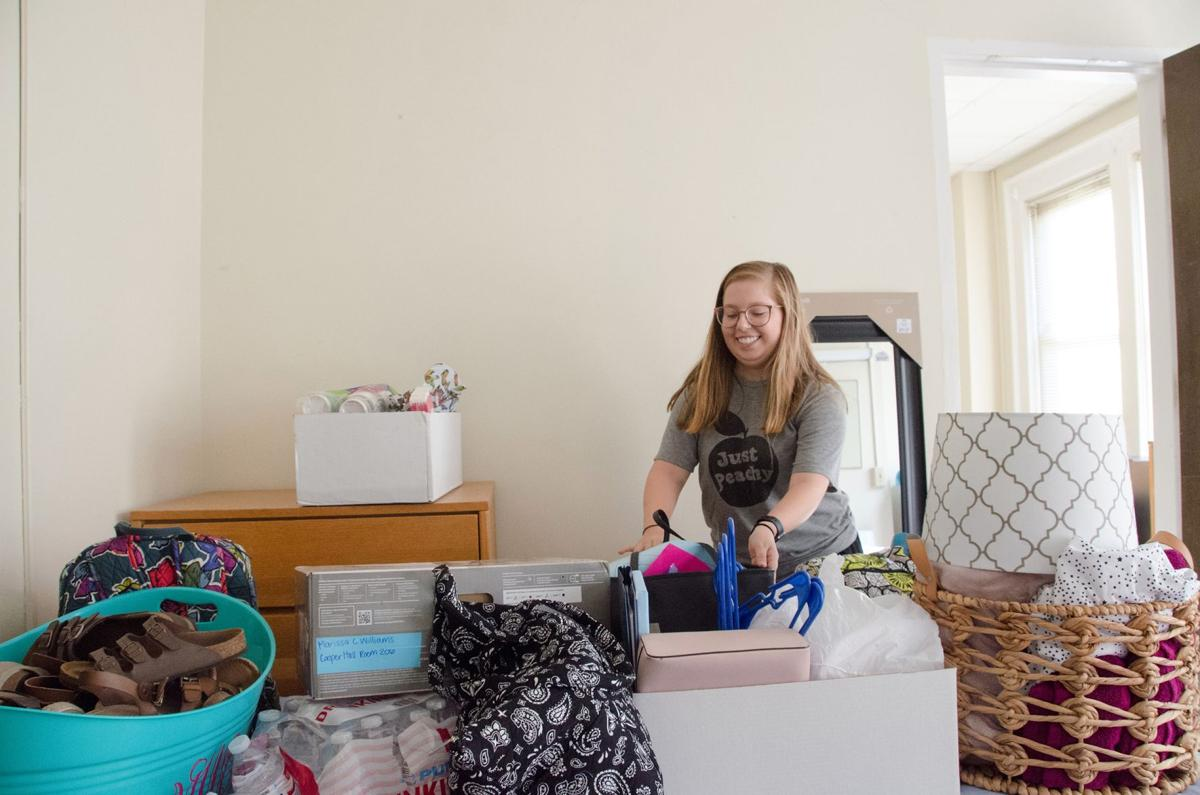 Move in day at Shorter University