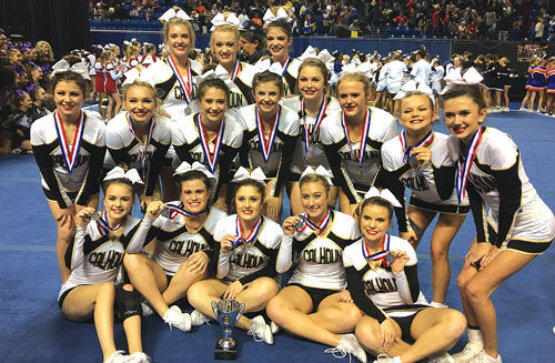 Calhoun cheer finishes as Class AAA State runner-up