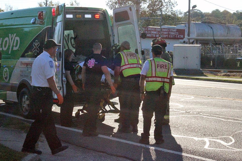 Pedestrian injured on North Broad on Oct. 4, 2017