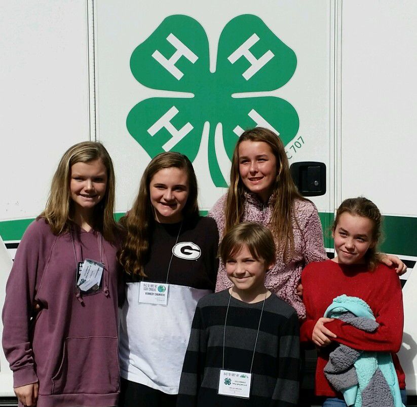 Local 4-H'ers attend Junior Conference