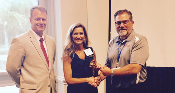 Taylor recognized at Georgia Association of Leaders Summer Conference