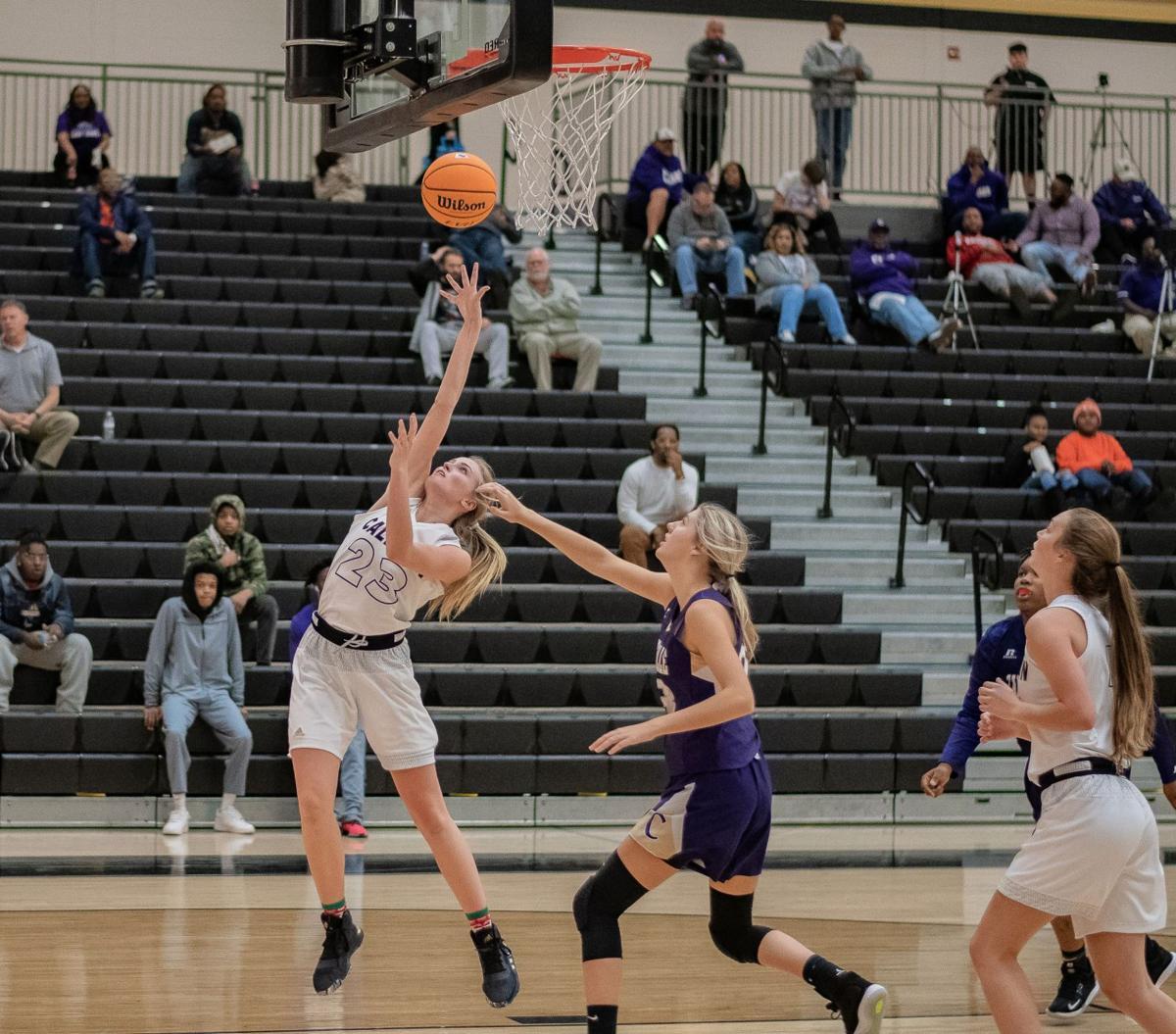 Anna George - Calhoun Girls Basketball vs. Cartersville