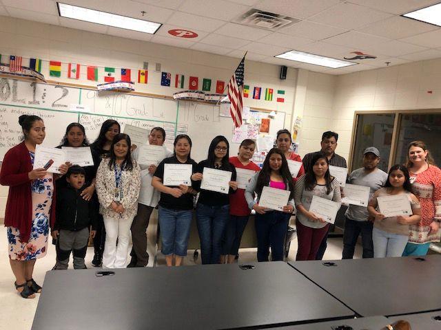 Graduate Polk ESL Class Celebration 2019