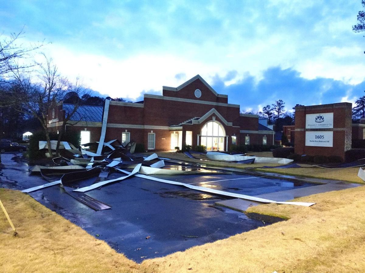 Storms leaves trail of damage around the county