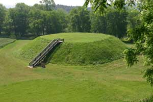 Control of items excavated from prehistoric burial mounds in