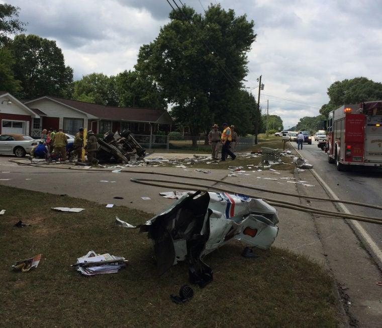 Tractor-trailer slams mail truck on Ga. 53 in Gordon County