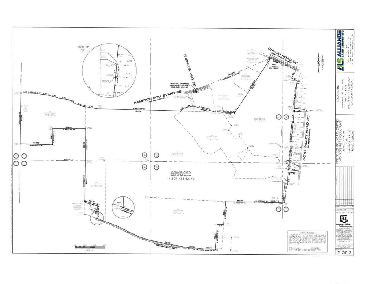 Proposed Boundary survey