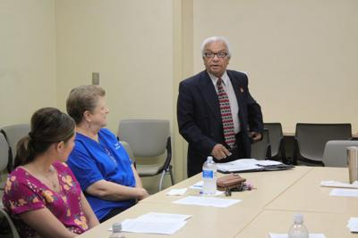 Rotary hears message of inspiration from visiting Dr  Farhat
