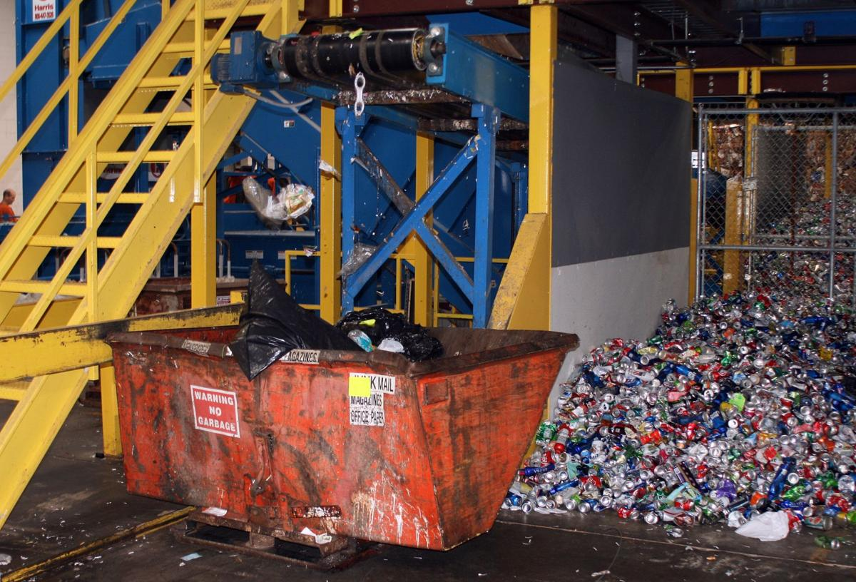 Leaders juggle the need to sort recyclables