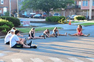 Rockmart cross country teams hold workouts in town