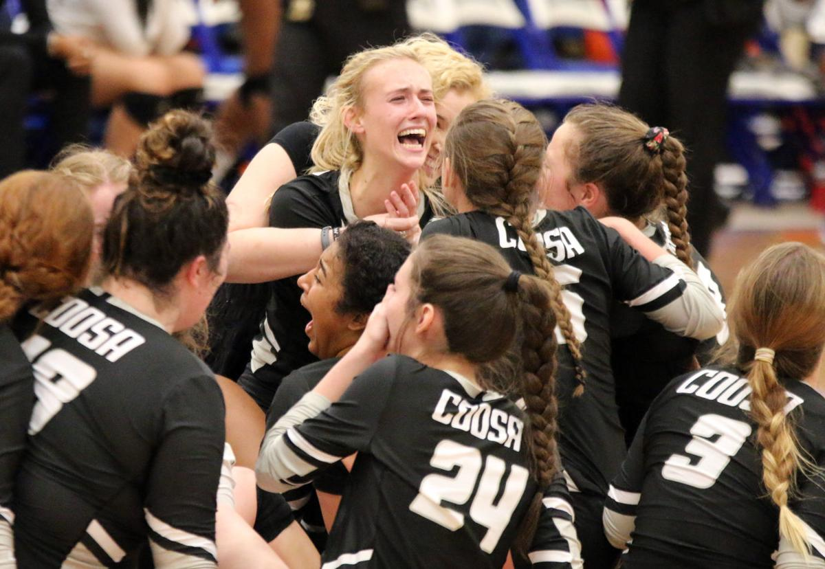 Coosa Volleyball State Champions