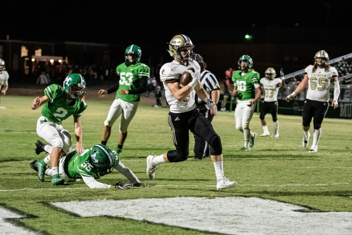 Calhoun Football - Cole Speer touchdown vs. Murray County
