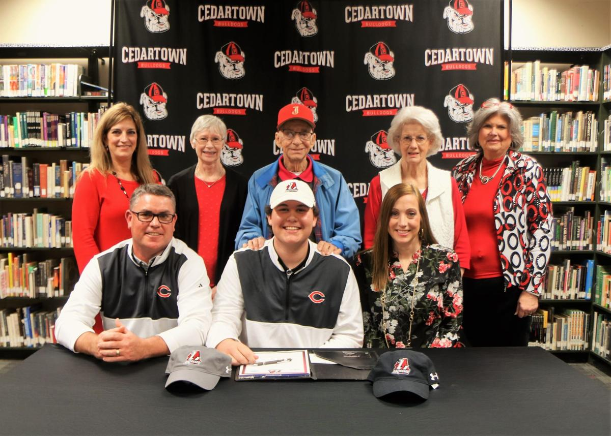 Ty Tracy signs with LaGrange College