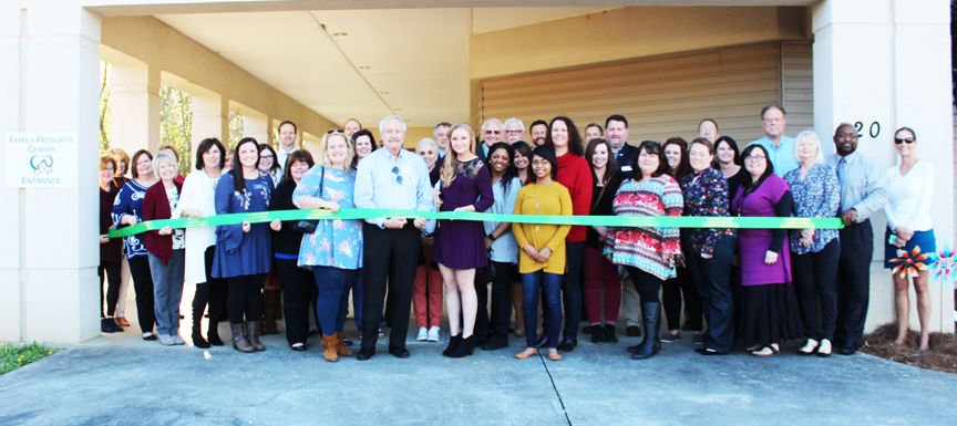 Ribbon Cutting ceremony held to officially open new Family Resource Center facility