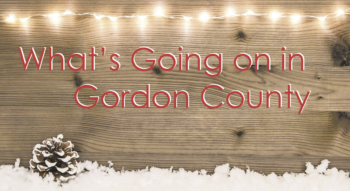 What's Going On In Gordon County