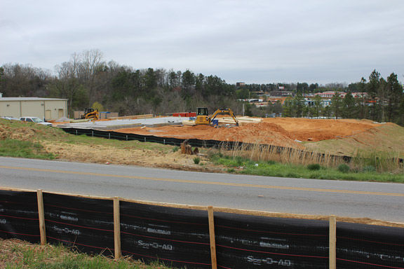 Site for Arby's in Ringgold