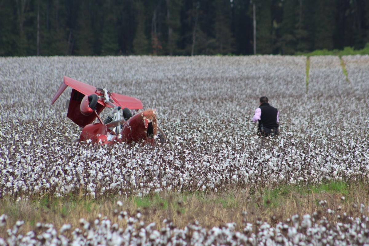 Aircraft crash in Polk County