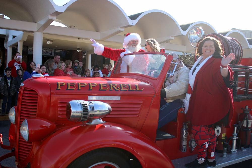 Santa visits Dragon Country