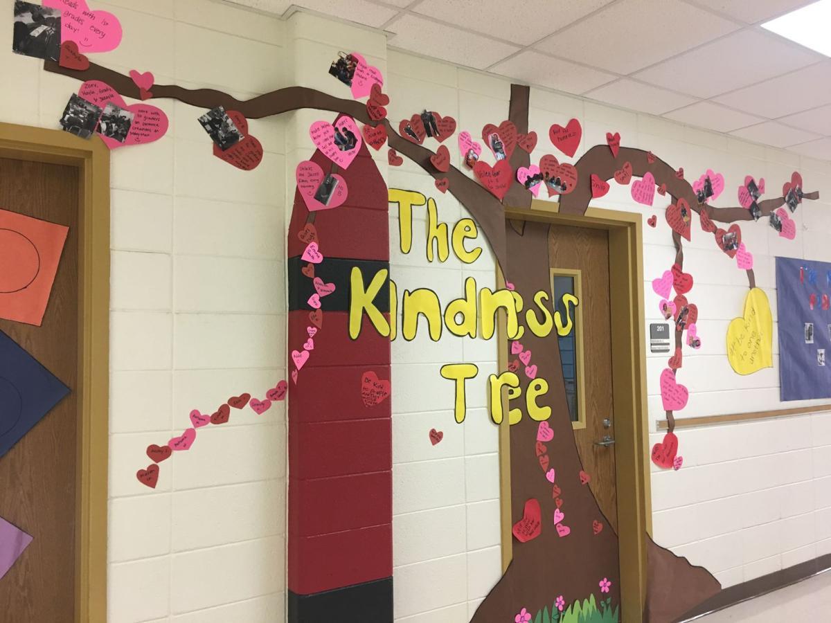 'Kindness Tree' growing at Van Wert Elementary