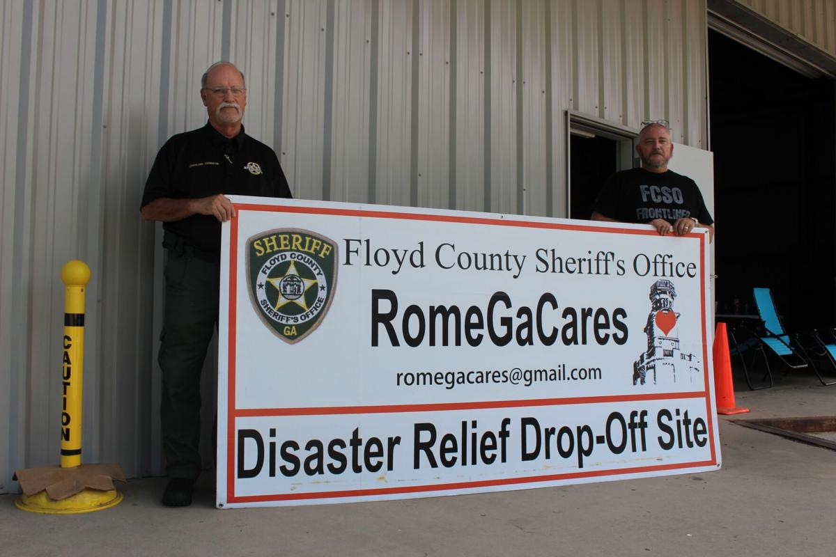 Rome GA Cares begins collections for Hurricane Ida relief