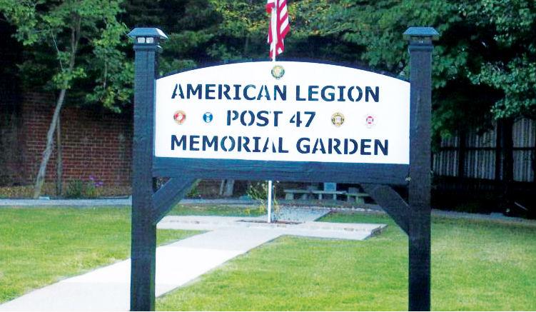Local American Legion Post receives Memorial Sign