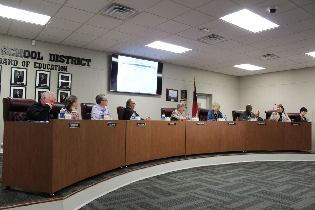 Polk County Board of Education - March 2019 regular session
