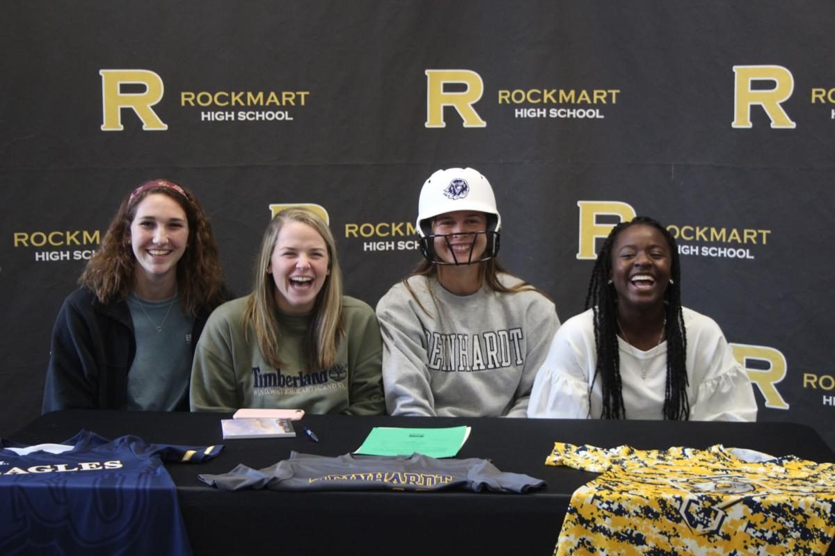 Emily Loveless signs with Reinhardt