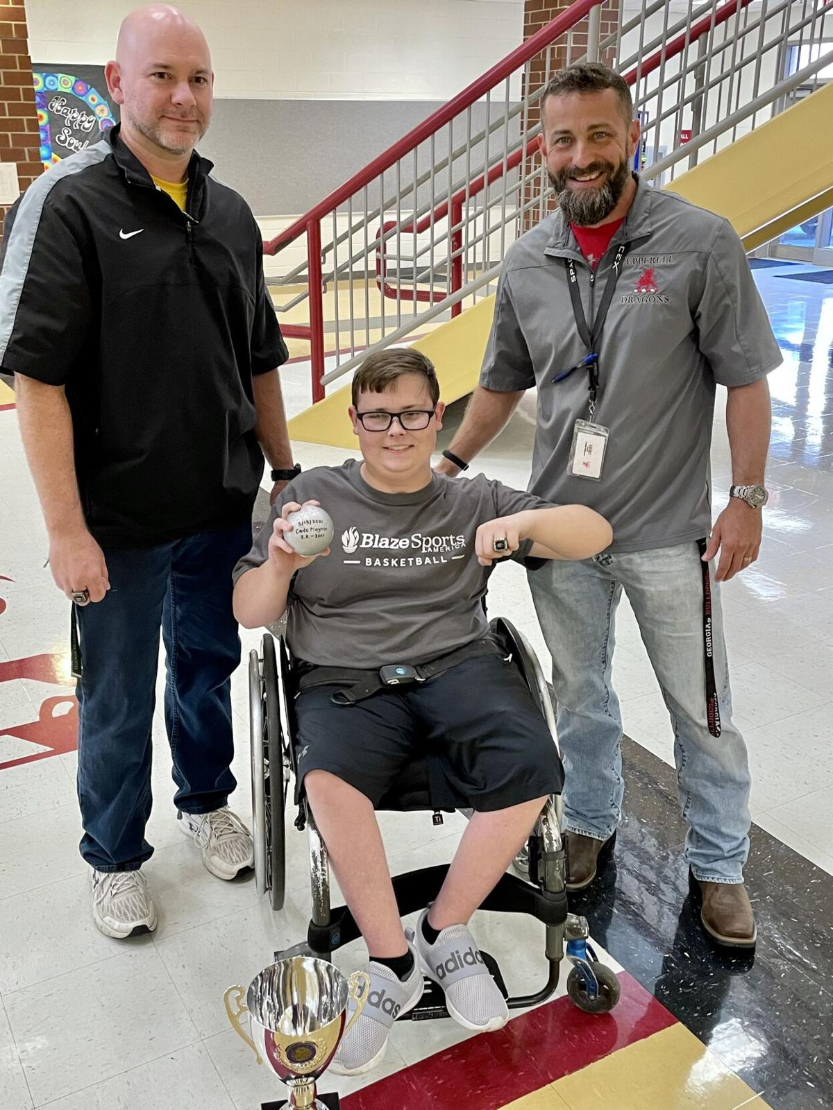 Pepperell's Cade Maynor wins adapted state championship
