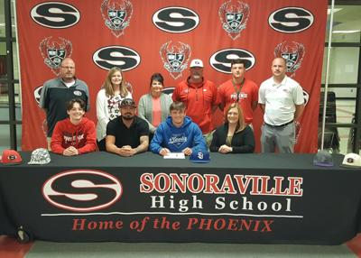 Sonoraville's Godfrey inks with Shorter to play baseball
