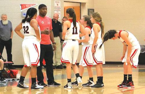 Red Bud girls basketball vs. Ashworth