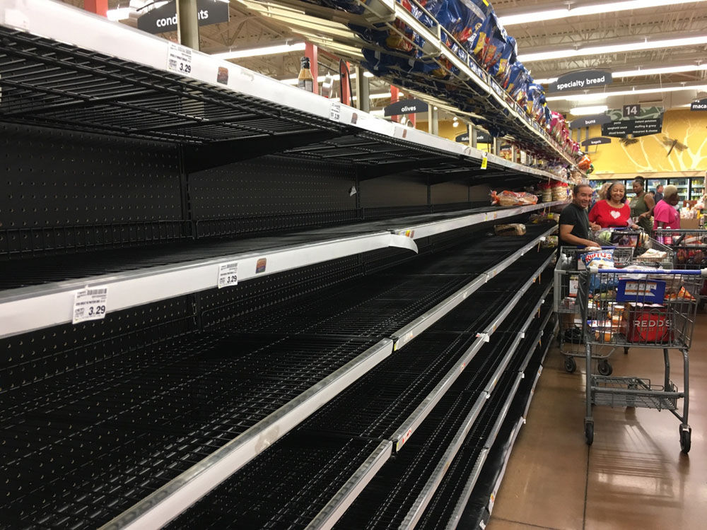 Irma bread shelves Kroger